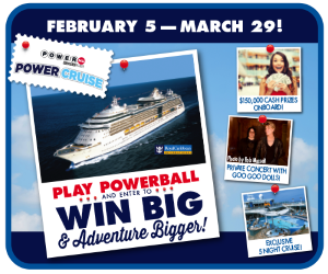 Powerball Power Cruise Promotions