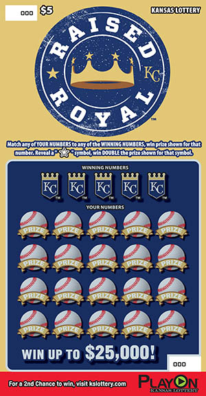 KANSAS CITY ROYALS Ticket Art