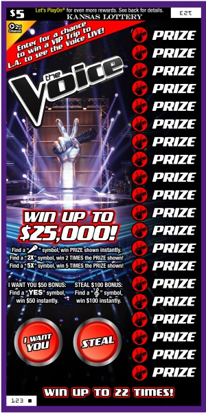 The Voice Instant Ticket