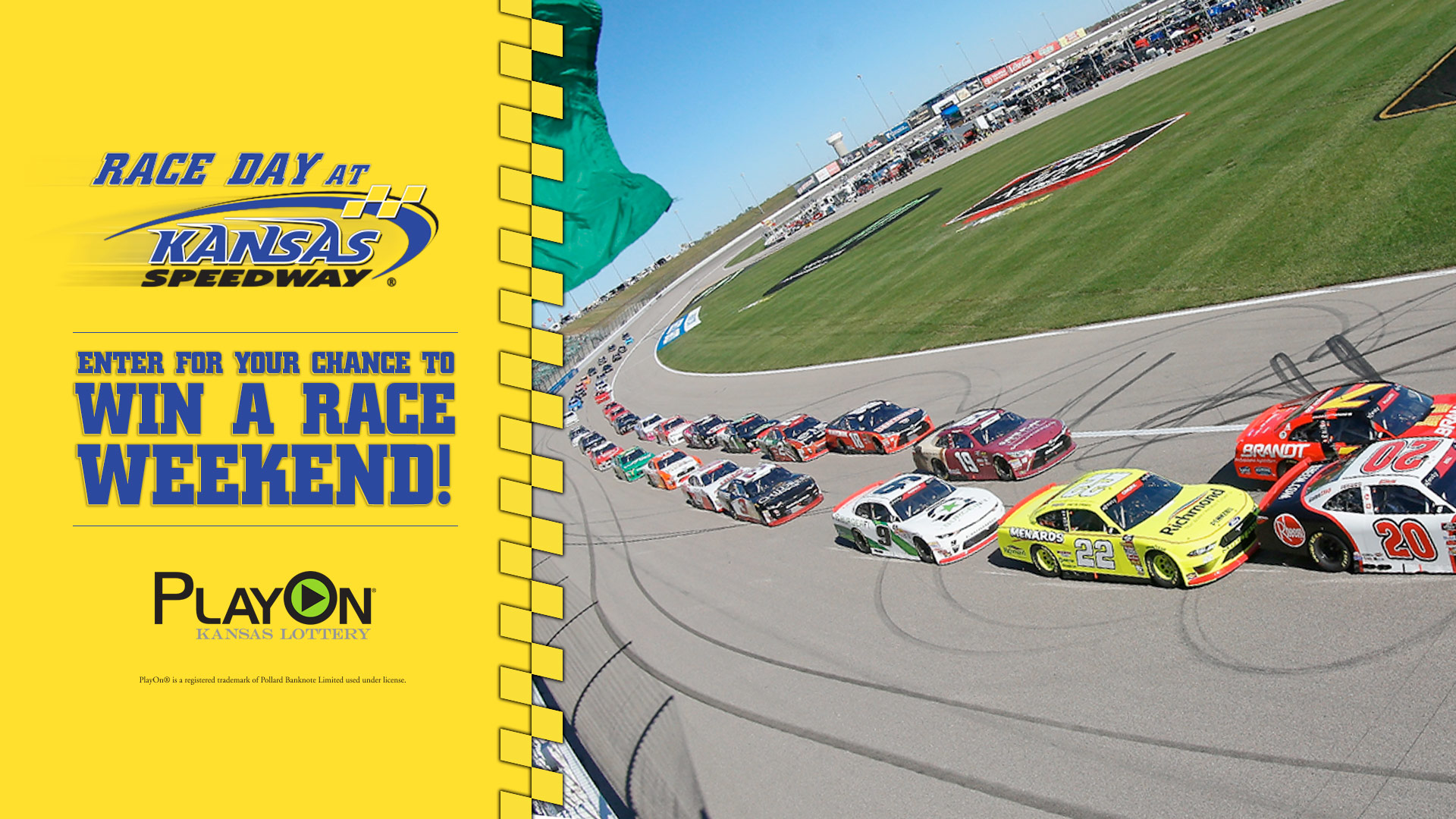 Race Day At Kansas Speedway Promotion