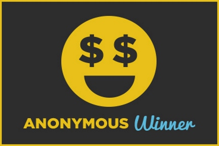 An anonymous winner claimed the $1 million Raffle grand prize!