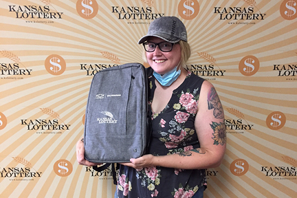 Heather Miller won the Grand Prize in the Silverado instant scratch game!